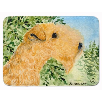 Landreneau Lakeland Terrier Memory Foam Bath Rug
