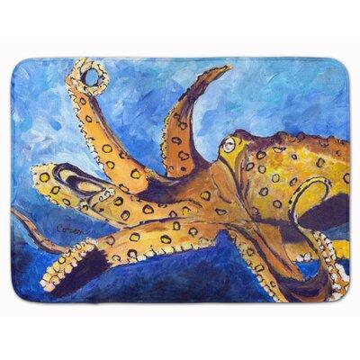 Wesley Octopus Memory Foam Bath Rug