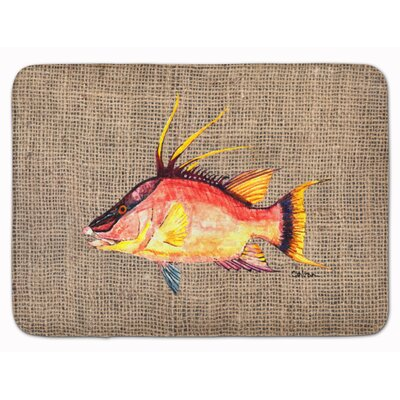 Hog Snapper Memory Foam Bath Rug