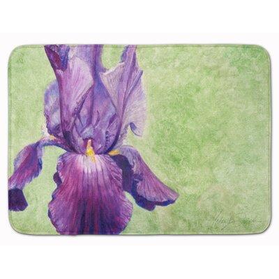 Iris by Malenda Trick Memory Foam Bath Rug