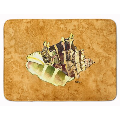 Shells Memory Foam Bath Rug