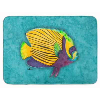 Tropical Fish Memory Foam Bath Rug