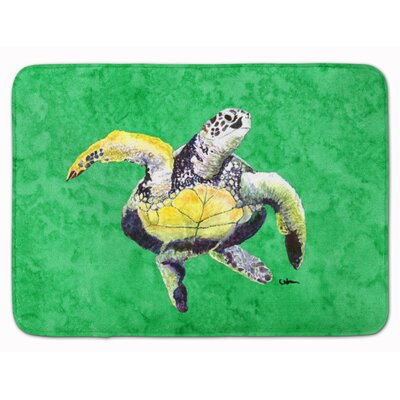 Turtle Memory Foam Bath Rug