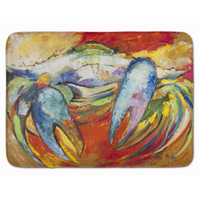 Crab Memory Foam Bath Rug