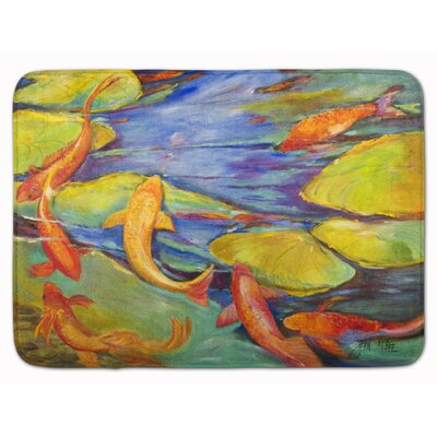 Louis Koi Memory Foam Bath Rug