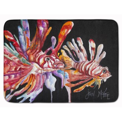 Lionfish Memory Foam Bath Rug
