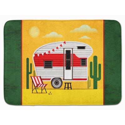 Cress Retro Camper Desert Memory Foam Bath Rug
