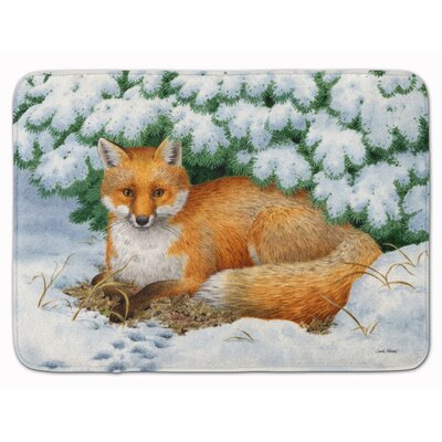 Winter Fox Memory Foam Bath Rug
