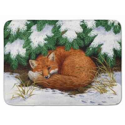 Rayland Naptime Fox Memory Foam Bath Rug