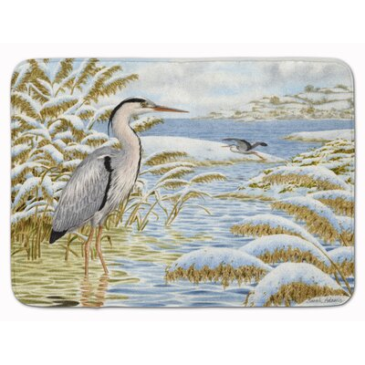 Heron by the Water Memory Foam Bath Rug