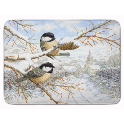 Coal Tit Memory Foam Bath Rug