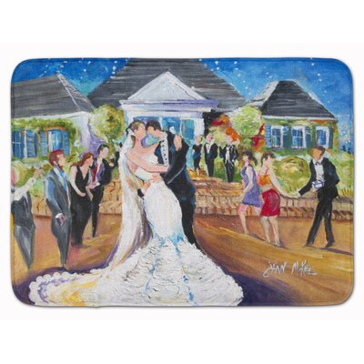 Richmond Our Wedding Day Memory Foam Bath Rug