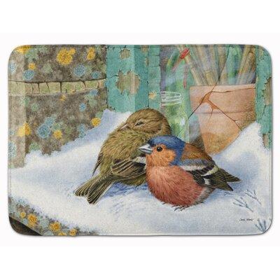 Chaffinches Memory Foam Bath Rug