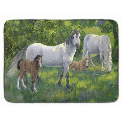 Horse Group Memory Foam Bath Rug