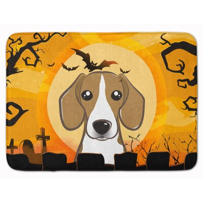 Halloween Beagle Memory Foam Bath Rug