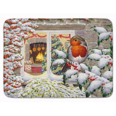 European Robin Memory Foam Bath Rug