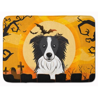 Testa Border Collie Memory Foam Bath Rug