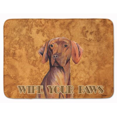 Vizsla Wipe your Paws Memory Foam Bath Rug