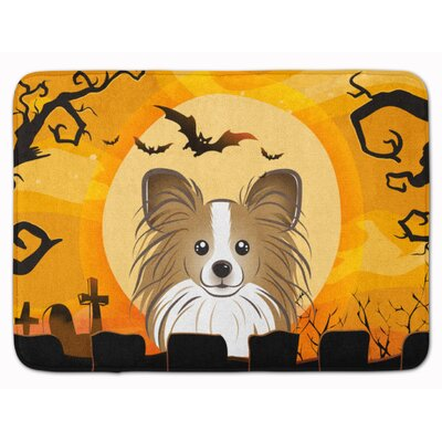 Halloween Papillon Memory Foam Bath Rug