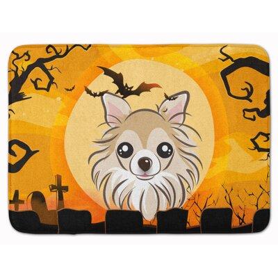 Halloween Chihuahua Memory Foam Bath Rug