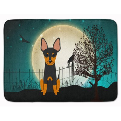 Testa Scary English Toy Terrier Memory Foam Bath Rug