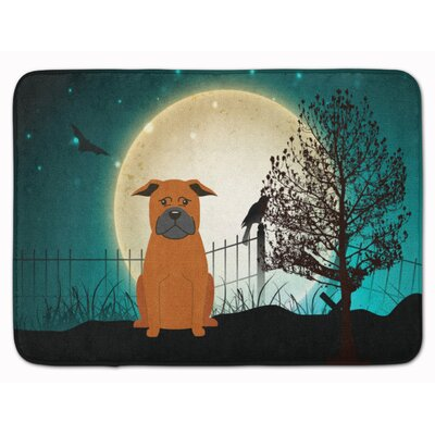 Testa Scary Chinese Chongqing Dog Memory Foam Bath Rug