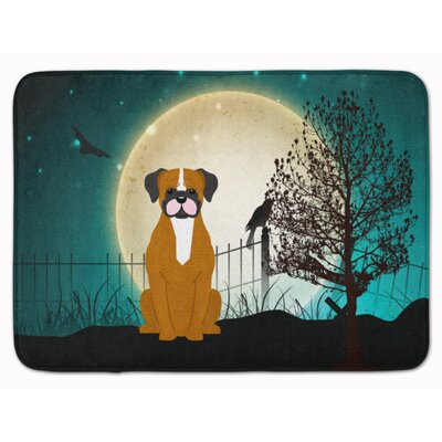 Testa Scary Flashy Fawn Boxer Memory Foam Bath Rug