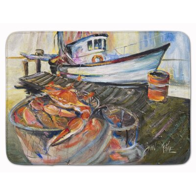 Crab Trap Memory Foam Bath Rug