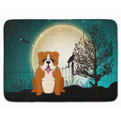 Testa English Bulldog Memory Foam Bath Rug