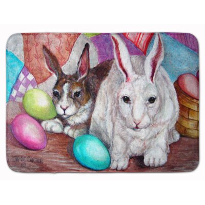 Easter Buddy Buddies Rabbit Memory Foam Bath Rug