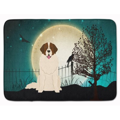 Halloween Scary Moscow Watchdog Memory Foam Bath Rug