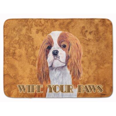 Cavalier Spaniel Wipe your Paws Memory Foam Bath Rug