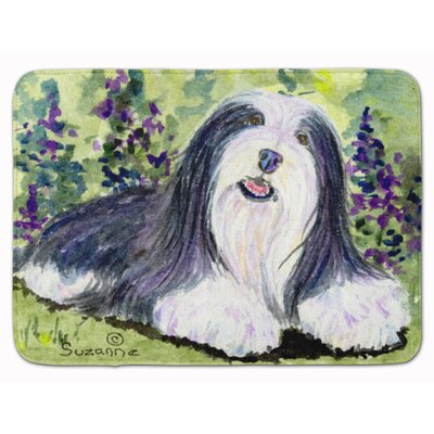 Bearded Collie Memory Foam Bath Rug