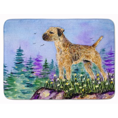 Border Terrier Memory Foam Bath Rug