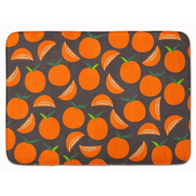 Oranges Memory Foam Bath Rug