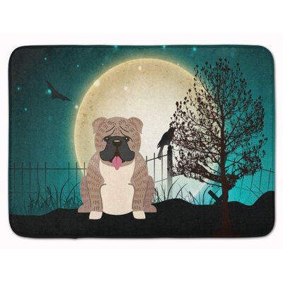 Testa English Bulldog Brindle Memory Foam Bath Rug