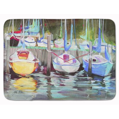 Sailboat Memory Foam Bath Rug
