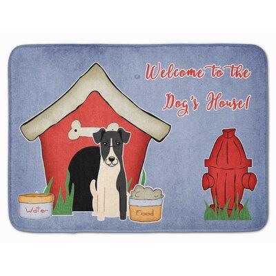 Dog House Smooth Fox Terrier Memory Foam Bath Rug