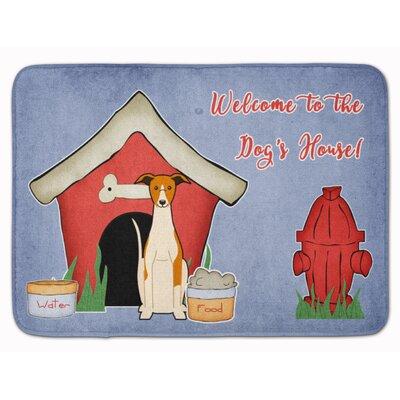 Dog House Whippet Memory Foam Bath Rug