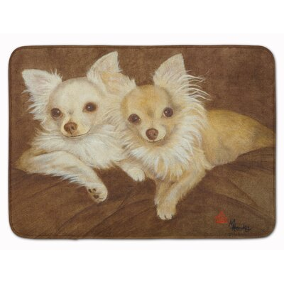 Chihuahua For the Pair Memory Foam Bath Rug