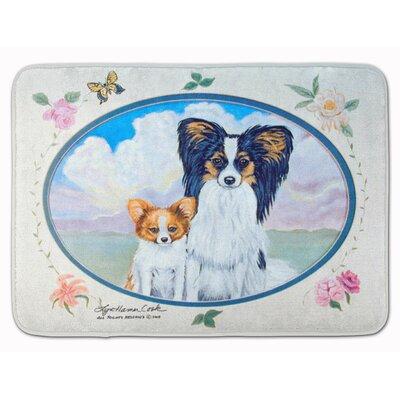 Papillon Memory Foam Bath Rug