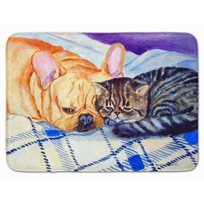 Cat and Dog Memory Foam Bath Rug
