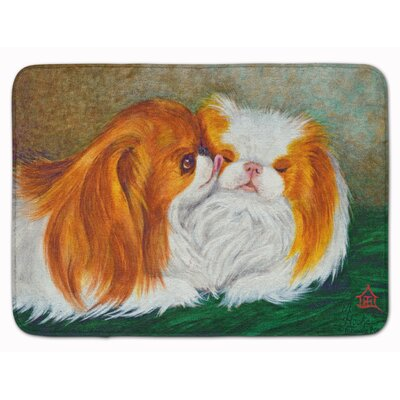 Kenwood Japanese Chin Best Friends Memory Foam Bath Rug