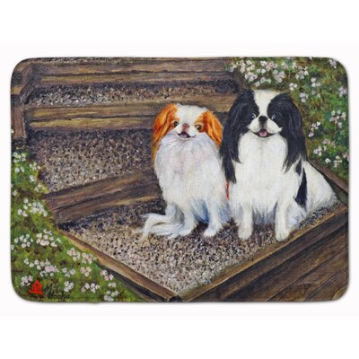 Kenwood Japanese Chin Daddys Girls Memory Foam Bath Rug