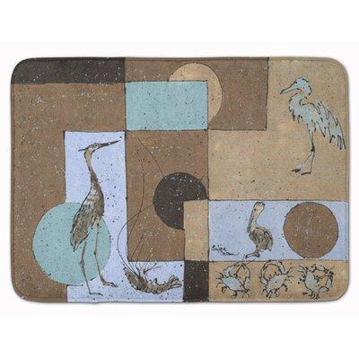 Heron Memory Foam Bath Rug