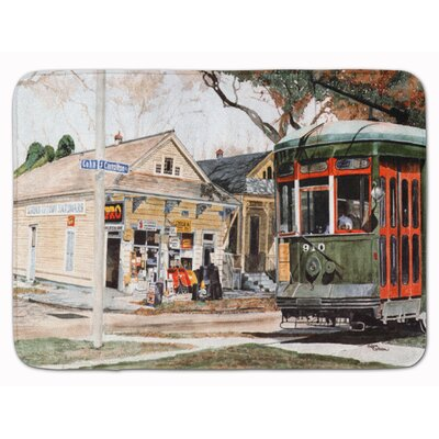 New Orleans Street Car Memory Foam Bath Rug