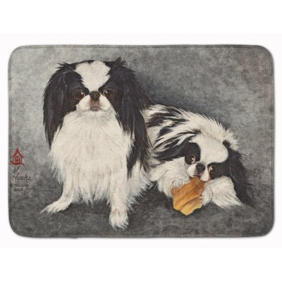 Kenwood Japanese Chin Impress Memory Foam Bath Rug