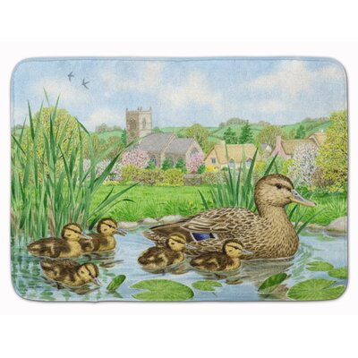 Randall Mallard Duck Memory Foam Bath Rug
