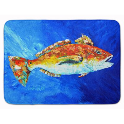Fish Spin Memory Foam Bath Rug