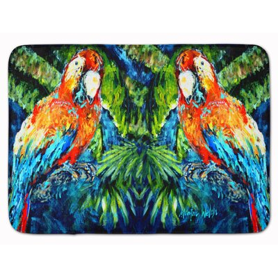 Parrot Yo Yo Mama Memory Foam Bath Rug